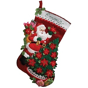 bucilla-felt-applique-kit-santas-poinsettia-tree~6097090w